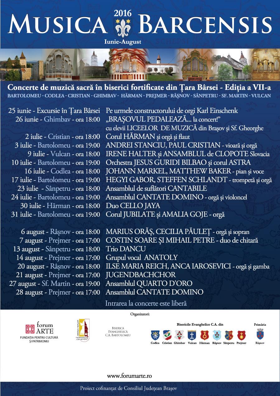 Musica Barcensis 2016