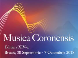Musica Coronensis 2018 – Ediția a XIV-a
