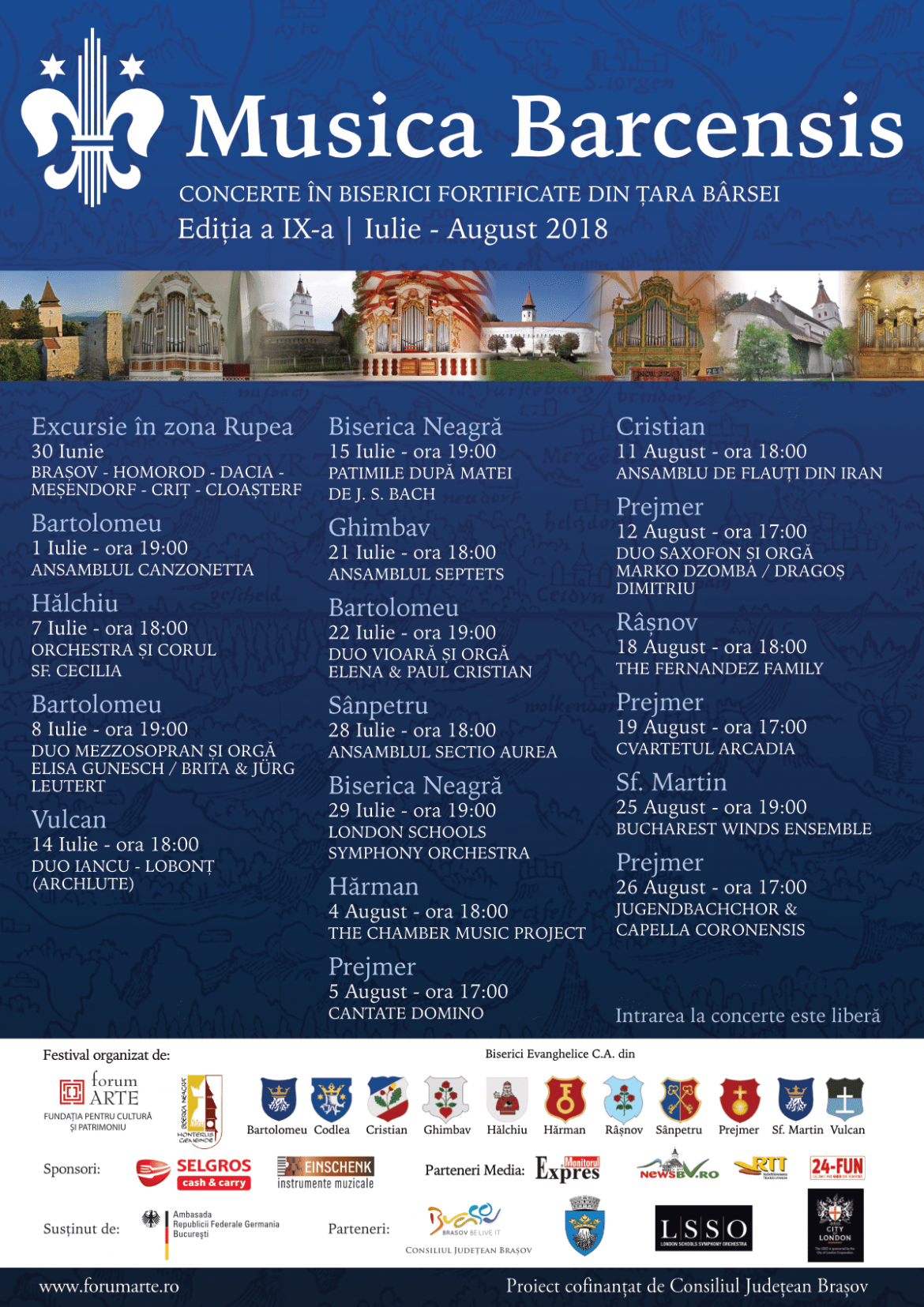 Program Musica Barcensis 2018